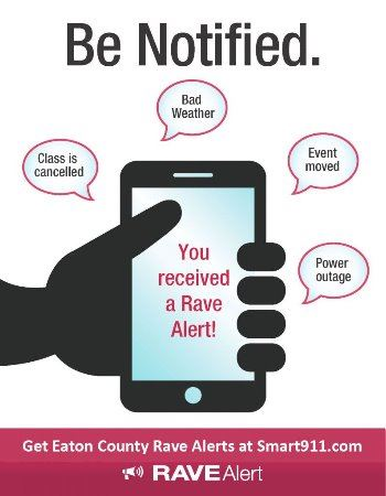 Rave Alert Be Notified Link to Smart911.com