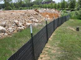 Proper Installation of Silt Fence
