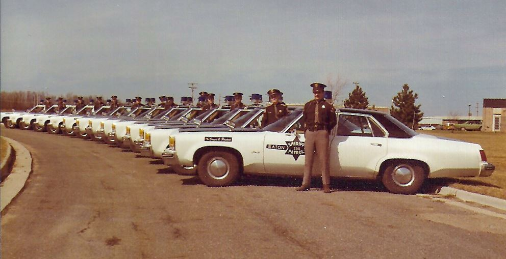 1976 - Eaton County Sheriff Department Deputies and fleet
