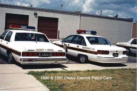 1990 and 1991 Chevy Caprice Patrol Cars