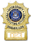 Eaton County Prosecuting Attorney Badge