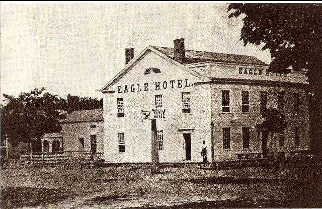 The Eagle Hotel had two rooms reserved as jail cells